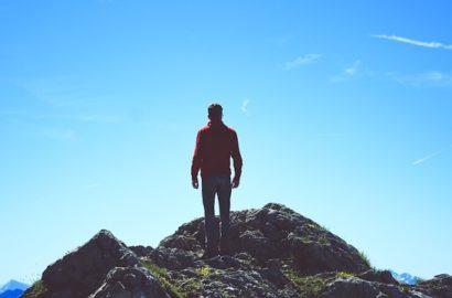 Mountain tops verses real life
